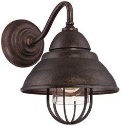 Astor Park Bronze 10 1/2-Inch-H Outdoor Wall Light - #EU4X264 - Euro Style Lighting