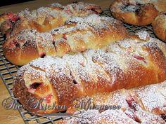 Braided Fruit & Cream Sweet Bread(From Scratch <3)