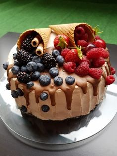 Something Sweet, Cheesecake, Ice Cream, Pudding, Sweets, Cookies, Food, Garden, Food Cakes
