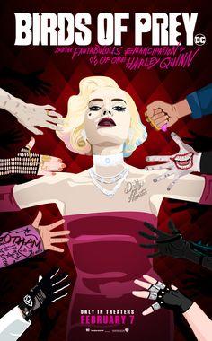 Arlequina Margot Robbie, Hearly Quinn, Birds Of Prey, Birds 2, Joker And Harley Quinn, Comic Book Characters, The Villain, Gotham City, Dc Universe