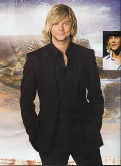 Keith Harkin of Celtic Thunder. that smile :)