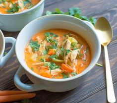This simple Buffalo Chicken Chowder is a set it and forget it meal the whole family will love! Packed with veggies, protein, and flavor, this easy soup is bound to be a new favorite for busy weeknights! Dairy-free, Paleo, and Whole30 compliant.  Buffalo sauce is kind of my favorite condiment. It basically has the two... Get the Recipe