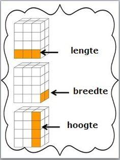 Lengte - breedte - hoogte van ruimtefiguren