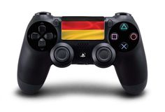 German / Germany Flag Playstation 4 (PS4) Controller Touchpad Decal