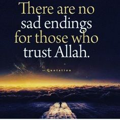 Our religion only has happy endings!