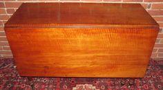 Drop leaf tiger maple table