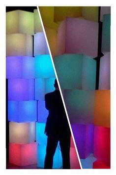 #ambientações #decoração #cor #luz #furnitureled #locação #cubosled #módulosportáteis #soholeds