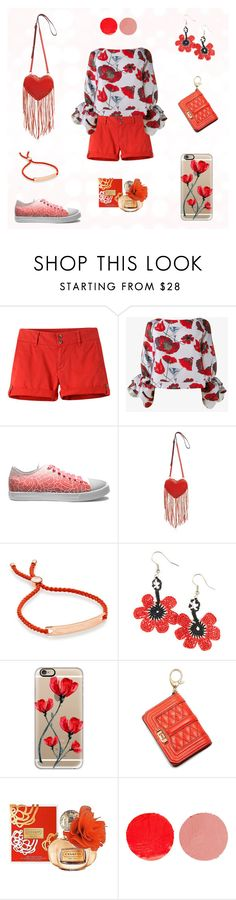 Poppy women outfit set by @savousepate on Polyvore #red