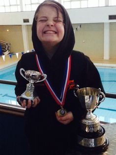 Grenoside Scout and Guide Groupwinning their swimming gala #fridayfund