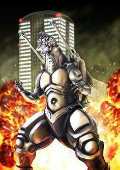 #Godzilla , #Mecha Godzilla