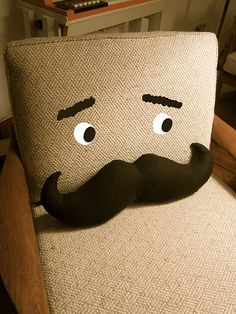 Funny pillow from La Bande des Faineantes