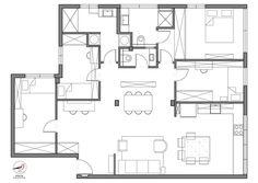 כוכבת השדרה: דירה משפחתית ומחבקת מוקפת עצים | בניין ודיור