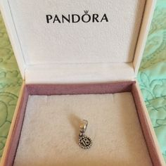 Pandora Birthday Charm Pandora Birthday Dangle Charm 🎂  Make a loved one's 18th birthday extra special with the 18th birthday charm. Crafted from sterling silver, it features an elegant hanging numerical pendant that's sure to delight. 🎈🎁 Pandora Jewelry