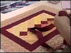 ▶ Patchwork Ana Cosentino: Réguas para Acabamento Ana Cosentino by Duna Atelier - YouTube