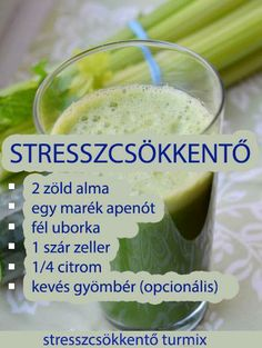 MENTŐÖTLET - kreáció, újrahasznosítás: természetes Healthy Juices, Healthy Drinks, Healthy Snacks, Healthy Eating, Healthy Recipes, Foods To Eat, Clean Eating Recipes, Smoothie Recipes, Healthy Lifestyle