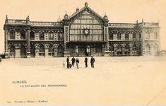 Estación de ferrocarril de Almería. Foto: Hauser y Mener (Madrid)