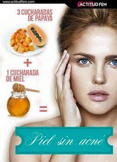 piel sin acne