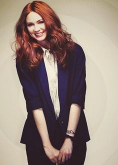 Karen Gillan, best known for her role as Amy Pond, the 11th Doctor's companion.