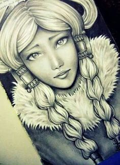 .Yue, former princess of the Northern water tribe