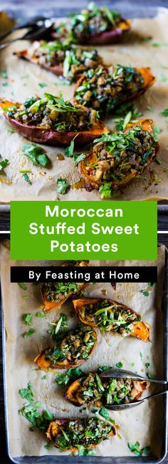 4. Moroccan Stuffed Sweet Potatoes #fall #recipes http://greatist.com/eat/fall-recipes-that-leave-you-feeling-cozy