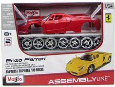 Maisto Enzo Ferrari 39964 1/24 New Metal Body Model Car Kit - Shore Line Hobby