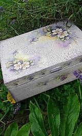 Krabičky - Romantická šperkovnica - 4916503_