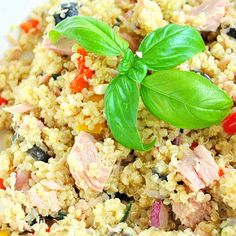 Quinoa Tunfisch Auflauf