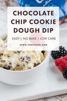 Whether you're looking for a sweet salty mix with pork rinds or keto crackers, or a sweet on sweet option with some berries, your whole family is going to be satisfied by this chocolate chip cookie dough dip! Keto, low sugar, and low carb. ChocZero creates healthier treats with quality ingredients. Enjoy keto-friendly, sugar-free chocolate and syrup that tastes incredible. Enjoy our low-carb, keto, gluten-free, and sugar-free recipes that use our delicious keto chocolate and syrups. Quick Keto Dessert, Healthy Dessert Recipes, Keto Recipes, Sugar Free Desserts, Sugar Free Recipes, Fun Desserts, Keto Cookie Dough, Keto Chocolate Chip Cookies, Pork Rinds
