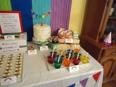 Rainbow Birthday Party Ideas | Photo 1 of 29