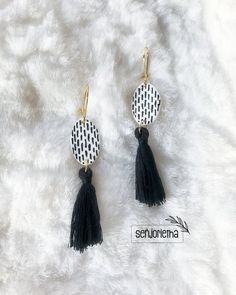 Statement Earrings, Tassel Necklace, Drop Earrings, Bridesmaid Earrings, Bridesmaids, Personalized Bridal Party Gifts, South African Artists, Pretoria, Polymer Clay Earrings
