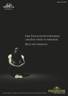 Pray for strength | Ads of the World™