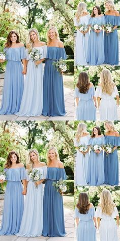 Bridesmaid dresses. Opt for a best suited bridesmaid dress for the wedding. You'll want to take into account the dresses that would certainly flatter your bridesmaids, simultaneously, match your wedding ceremony style. #weddingdress