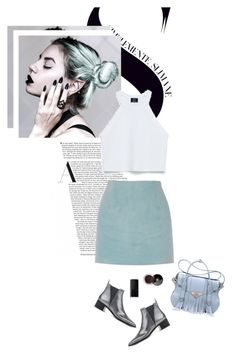 """""""Turquoise"""" by beautifullylovely ❤ liked on Polyvore featuring Acne Studios, Zara, Ella Rabener, Chanel and NARS Cosmetics"""