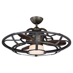 Features:  -Airflow: 2374 cubic feet per minute.  -Suitable for use in a covered outdoor area.  Motor Finish: -Metallic Gray.  Blade Finish: -Chestnut.  Hardware Finish: -Light Black.  Body Material: