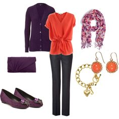 """Purple"" by baylorwhite on Polyvore"