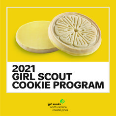 Lemonades, Shortbread, and Toast-yay, oh my! We are so excited for the 2021 Girl Scout Cookie Program to kick off on January 16th. Who is with us?