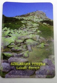 Pamiątkowy Magnes 3D Łabski Szczyt Szklarska Poręba | Pamiątkowe Magnesy | Upominki24.com
