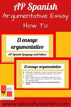 AP Spanish Argumentative Essay