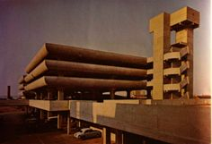 Tricorn Centre, Portsmouth. Photo from Architectural Design November 1966 Demolished 2004