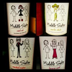 One of my favorite wineries Middle Sister Wines