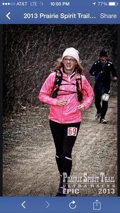 Kathy runs
