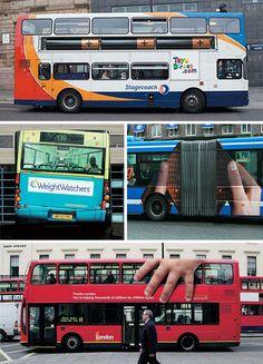 hahaha bus art