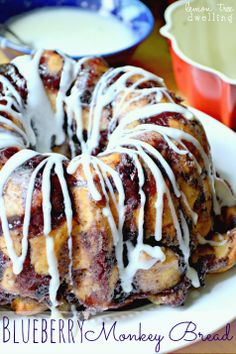 Blueberry Monkey Bread