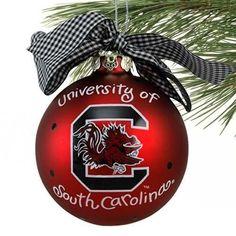 Riddell South Carolina Gamecocks NCAA Football Helmet Christmas Tree DIY Ornament