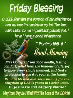 Friday Morning Quotes, Blessed