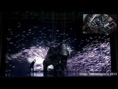 """King Kong"" scene with pre-visualisation and overlay of Stage Technologies trolley - YouTube"