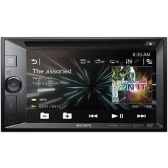 "Sony - XAV - 6.2"" - CD/DVD - Built-In Bluetooth - In-Dash Deck with Remote - Black"