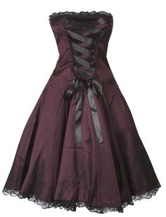 Corset look dress - Rockabilly Clothing - Shop for Rockabillies and Rockabellas