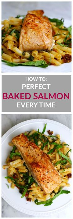 How to Make Perfectly Baked Salmon Every Time. The secret to moist, flakey, tender fish!