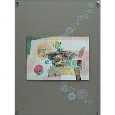 土田佳代子 ゆらさらパネルアート 「メリーゴーランド」 97650yen 土田佳代子・・New パネルアート